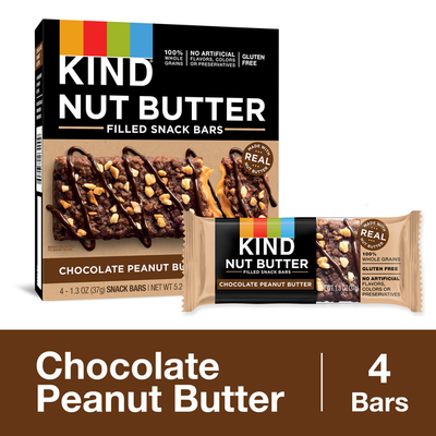 KIND Nut Butter Filled Chocolate Peanut Butter Bars