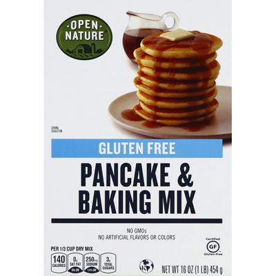 Open Nature Pancake & Baking Mix, Gluten Free