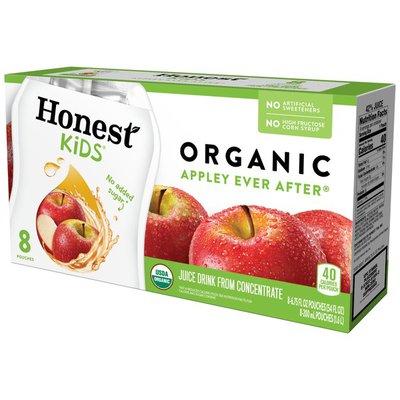 Honest Tea Kids Appley Ever After Apple Organic Fruit Juice