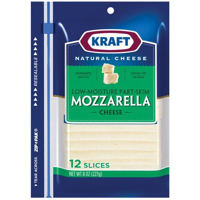 KRAFT Mozzarella Cheese Slices