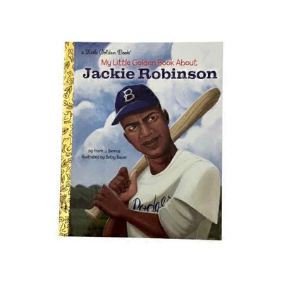 Golden Books My Little Golden Book About Jackie Robinson Hardcover Book