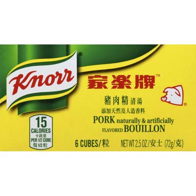 Knorr Bouillon, Pork, Cubes