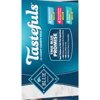 Blue Food for Cats, Assorted, Flaked, Adult, Variety Pack