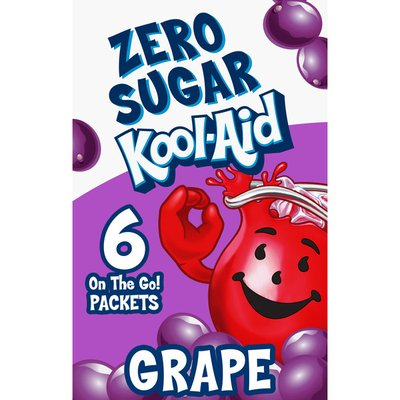 Kool-Aid Zero Sugar On The Go Grape Drink Mix