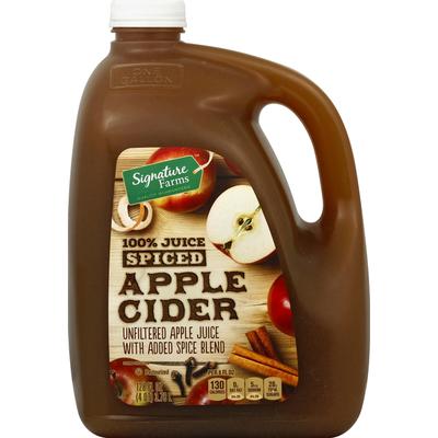Signature Apple Cider, Spiced