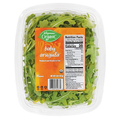 Wegmans Organic Arugula, Baby