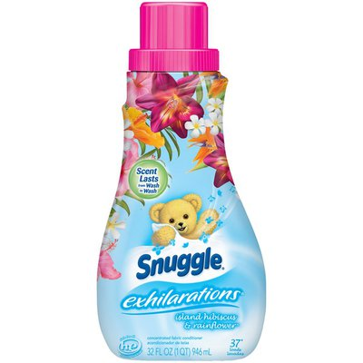Snuggle Fabric Softener, Concentrated, Island Hibiscus & Rainflower