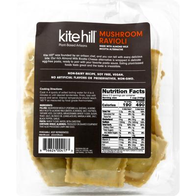 Kite Hill Ravioli, Mushroom