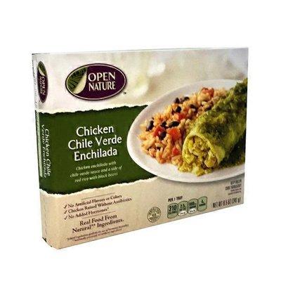 Open Nature Chicken Chile Verde Enchilada