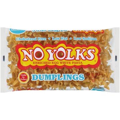 No Yolks Cholesterol Free Egg White Pasta Dumplings