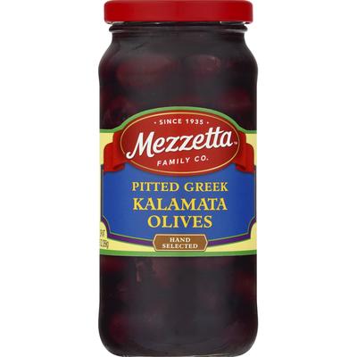 Mezzetta Olives, Kalamata, Pitted Greek