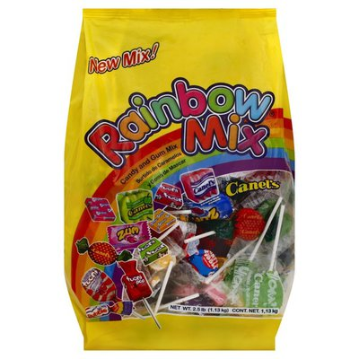 Canels Candy and Gum Mix, Rainbow Mix