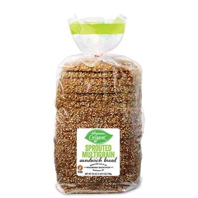 Wegmans Organic Sprouted Multigrain Sandwich Bread