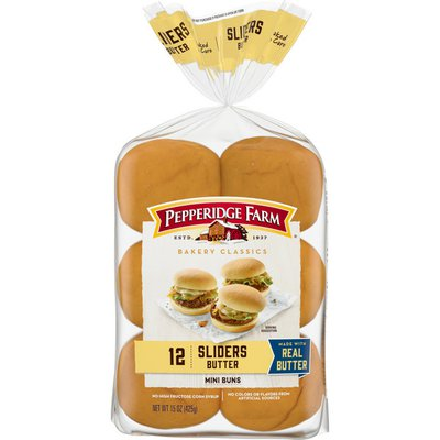 Pepperidge Farm®  Bakery Classics Butter Slider Buns