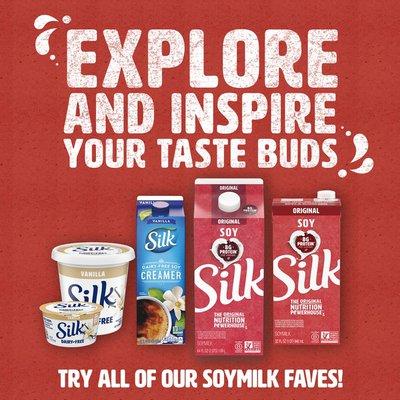 Silk Blueberry Soy Milk Yogurt Alternative