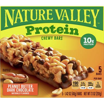 Nature Valley Chewy Granola Bars, Peanut Butter Dark Chocolate
