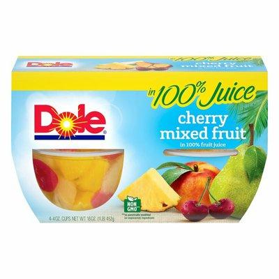Dole Cherry Mixed Fruit in 100% Fruit Juice