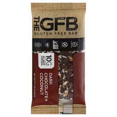 The GFB Bar, Gluten Free, Dark Chocolate + Coconut
