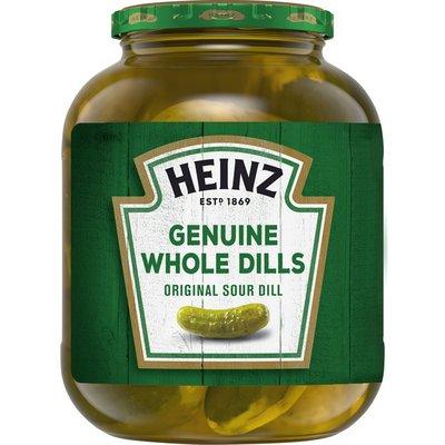 Heinz Genuine Whole Original Sour Dill Pickles