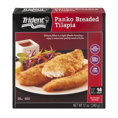 Trident Seafoods Panko Breaded Tilapia