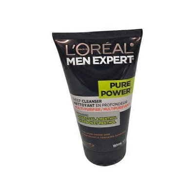 L'Oreal Men Expert Pure Power Deep Cleanser With Charcoal & Menthol