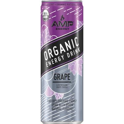 AMP Grape Energy Drink