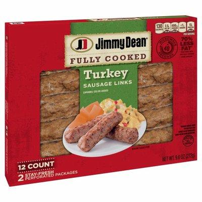 Jimmy Dean Fully Cooked Breakfast Turkey Sausage Links