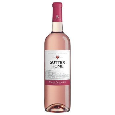 Sutter Home White Zinfandel Pink Wine