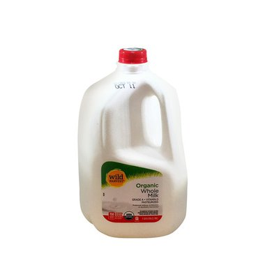Wild Harvest Milk, Organic, Whole