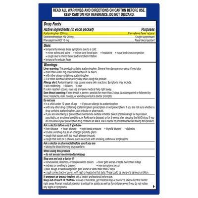 Theraflu Multi Symptom Severe Cold Powder Packets, Multi Symptom Severe Cold Powder Packets