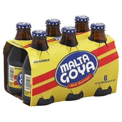 Goya Malta, Malt Beverage, Non-Alcoholic, 6-Pack