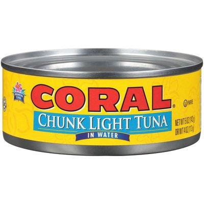 Coral Chunk Light Tuna In Water