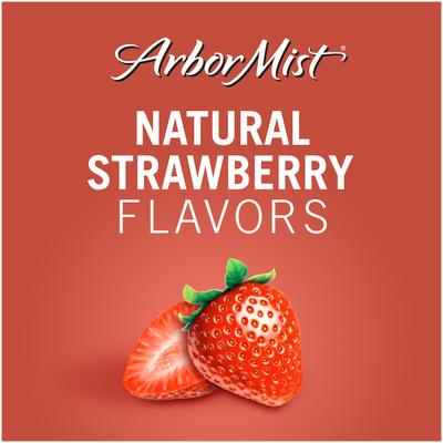 Arbor Mist Strawberry White Zinfandel Fruit Wine