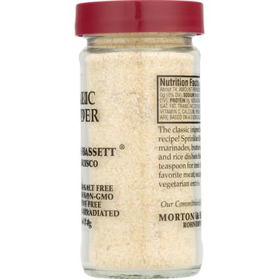 Morton & Bassett Spices Garlic Powder