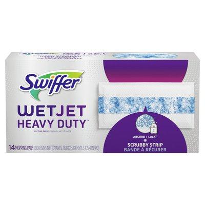 Swiffer Wetjet Heavy Duty Mopping Pads Refills