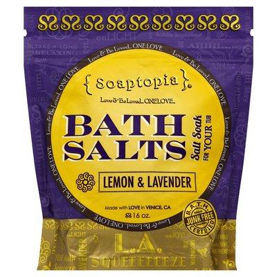 Soaptopia Bath Salts, Lemon & Lavender