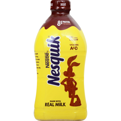 Nestle Nesquik Milk, Lowfat, Chocolate