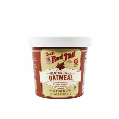 Bob's Red Mill Oatmeal Cup, Brown Sugar & Maple, Gluten Free