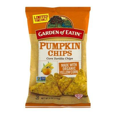Garden of Eatin' Pumpkin Chips Corn Tortilla Chips