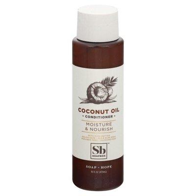 Soapbox Conditioner, Coconut Oil, Moisture & Nourish