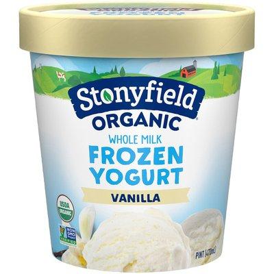 Stonyfield® Organic Whole Milk Vanilla Frozen Yogurt