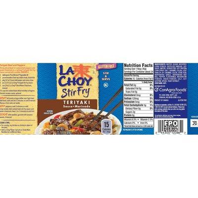 La Choy Teriyaki Stir Fry Sauce