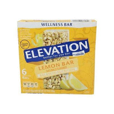 Elevation by Millville Lemon Zest Wellness Bar