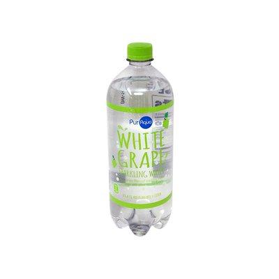 PurAqua White Grape Sparkling Flavored Water