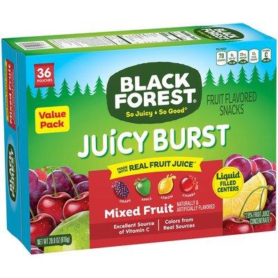 Black Forest Juicy Burst Mixed Fruit Fruit Flavored Snacks