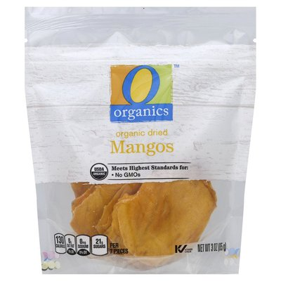O Organics Dried Organic Mangos