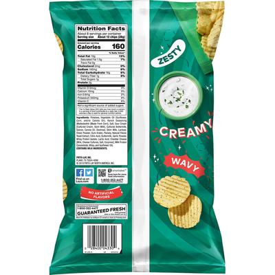 Lay's Wavy Ranch Potato Chips