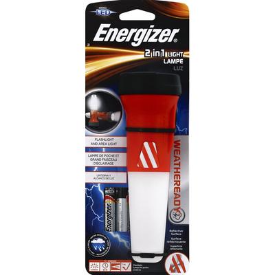 Energizer Flashlight, Light Lamp, 2 in 1, LED