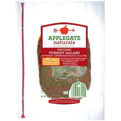 Applegate Uncured Turkey Salami