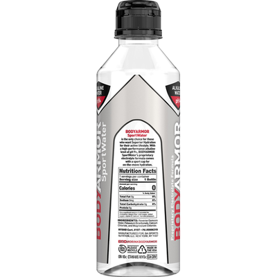 BODYARMOR Sportwater, Alkaline pH9+